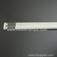 Calentadores tubulares de onda media de cuarzo