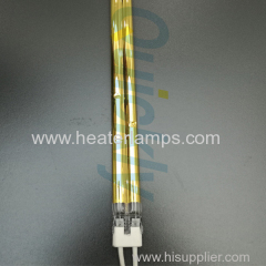 double quartz heating lamps