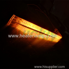 quartz tube infrared heaters for wave soldering oven
