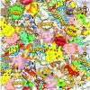 China Hydrographic Hydro Dipping Cartoon Film Water Transfer Printing Paper in Stock