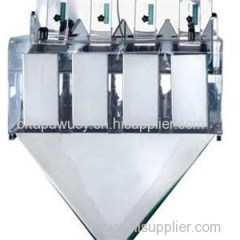 2 4 Heads Liner Weigher For Packing Machine