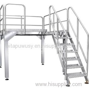 Working Platform/Z Shape Elevator/ Finished Product Conveyor