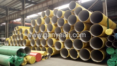 ASTM 304 stainless steel pipe outside polished