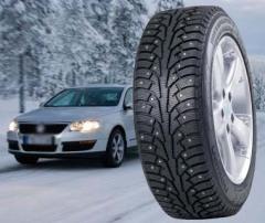 Neumáticos para coche de invierno tachonado nuevo