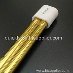 Double tube quartz infrared lamp heater