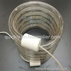 Twin tube medium wave quartz lamp heater