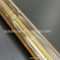 Medium wave quartz double lamp heater