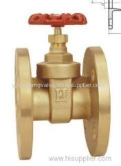 FLANGED BRASS GATE VALVE