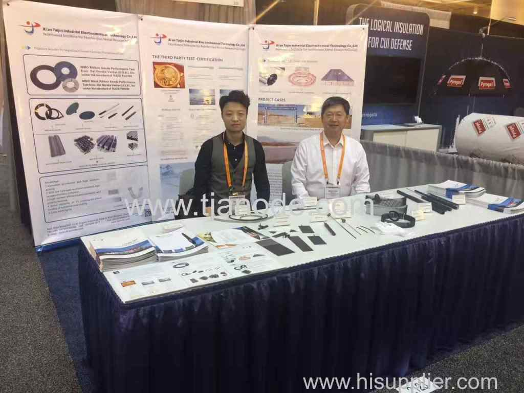 USA NACE Corrosion Exhibition  in New Orleans, Louisiana