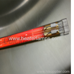 quartz electric carbon heater lamps