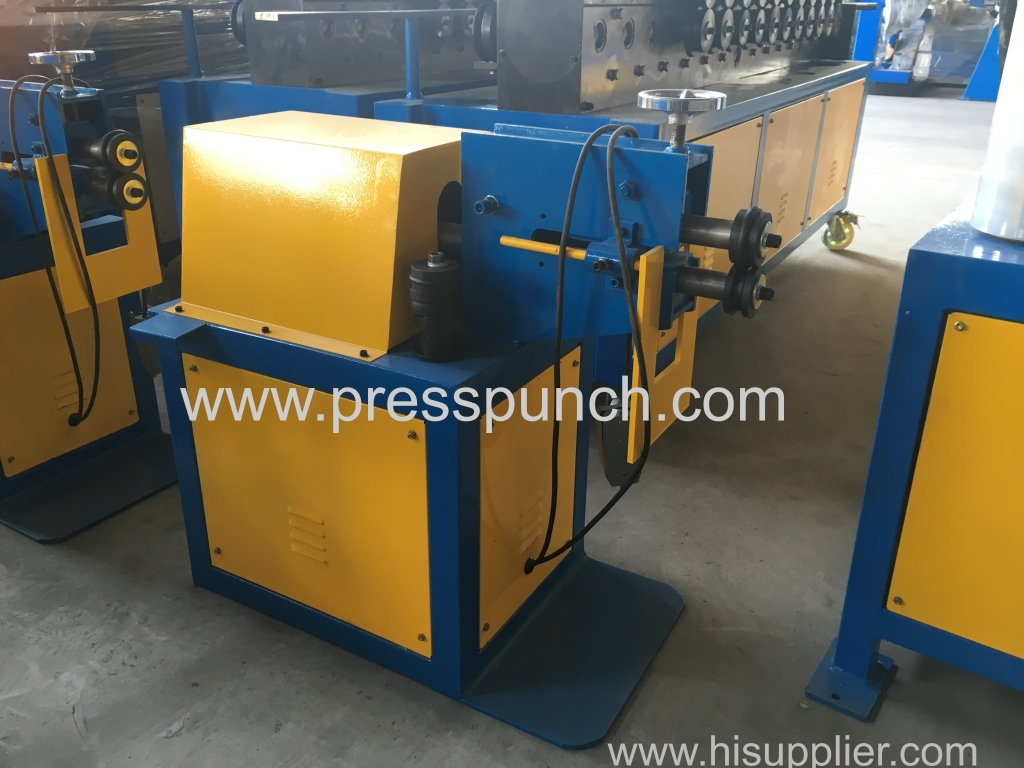 Duct slip roller machine and reeling machine exported