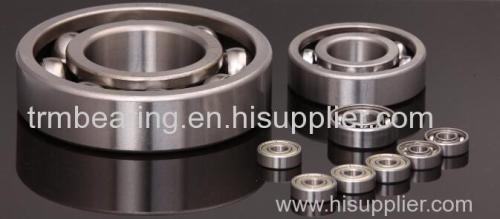 manufacture suppliers inch size deep groove ball bearings