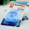 50m Blister card packing Triangle shape dental floss Cool mint waxed customized floss with FDA CE approval