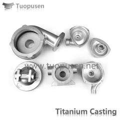 Ttitanium casting parts valve