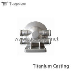 titanium alloy casting parts customization