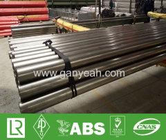 Mirror polish stainless steel welded tubes