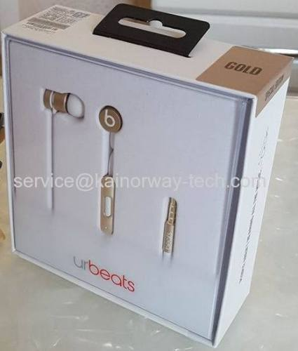 New Urbeats3.0 Beats by Dr.Dre Special Edition Gold Wired In-Ear Headphone Earphones With Mic