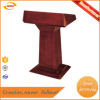 good quality products fine craftsmanship beautiful surface treatment Iron+painting&wood rostrum and podium