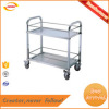 Hotel stainless steel food service trolley wine liquor cart Kunda