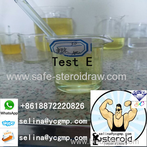 Muscle Growth Steroid Oil Testosterone Enanthate Test E 250 Mg/Ml