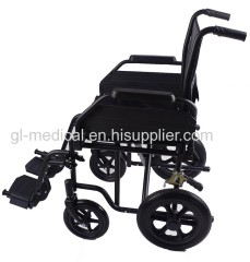 Factory direct supplier safe convenient to use aluminum manual wheelchair