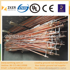 customized ground rod assembly