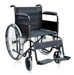 Aluminum folding manual wheel chair