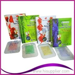 ONE ACTION Convenient to Use Lavender Rose Fragrance Foot Patch
