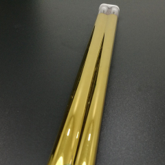 gold coating medium wave quartz tube heaters