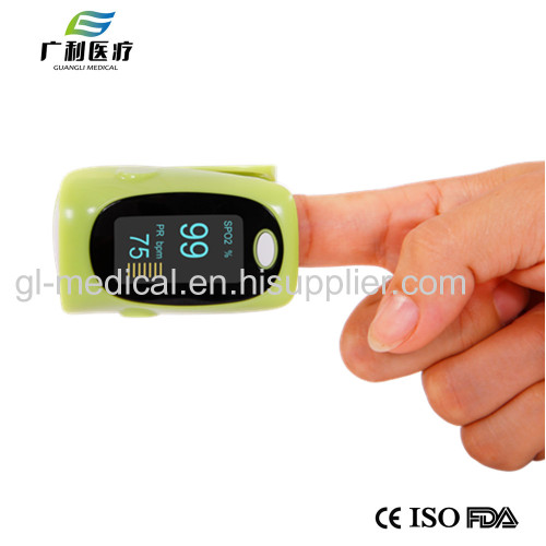 Homecare fingertip pulse oximeter with memory