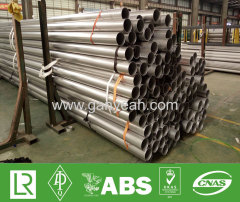 DIN 11850 welded 316 stainless steel tubing