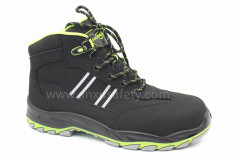 safety boots with composite toe-cap and kevlar middle sole