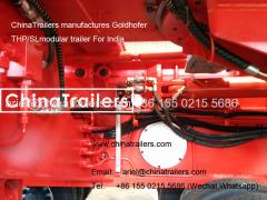 Heavylift transporter Goldhofer THP/SL modular trailer