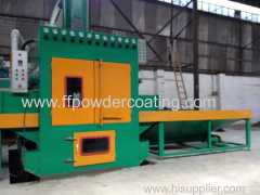 Automatic sand blasting machine for ceramic tile glass and so on