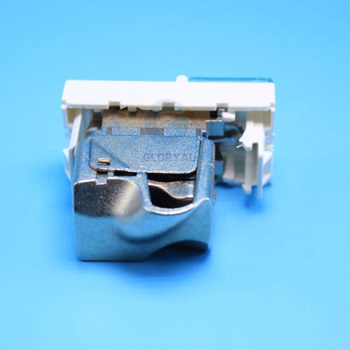 French legrand type single port STP keystone jack