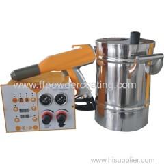 small work piece powder coating machine