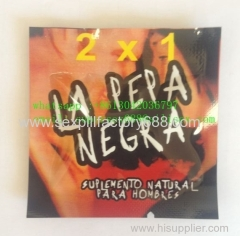 factory price la pepa negra 2x1 male pills sex enhancement