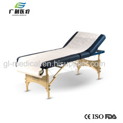 Disposable examination table roll cover