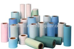Disposable PP nonwoven examination table cover roll for massage