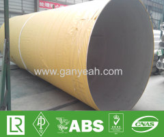 Large diameter stainless welded pipe