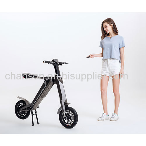 AK-1 automatically folding Electric Bike inspired by the Transformers