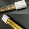 Quartz tube medium wave IR heater lamps