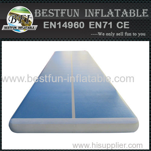durable inflatable air track for gym practice train