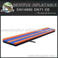 portable inflatable gym tumbling track