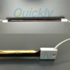 Ruby quartz tube infrared heating lamp