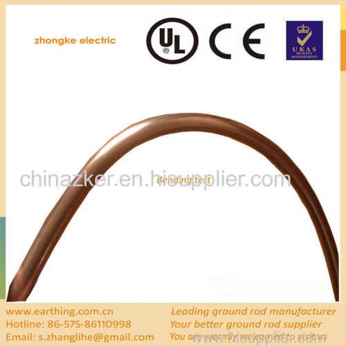 high tensile strength copper grounding rod