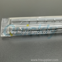 quartz tubular double infrared heater lamps