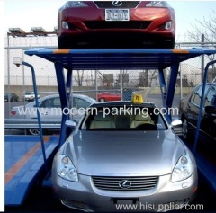 Two post car parking lift system