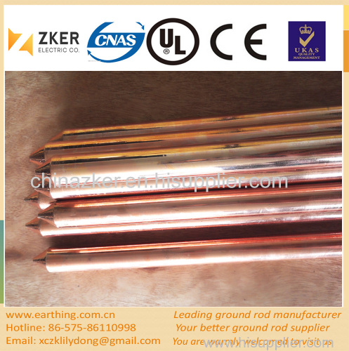 highly durable grounding rod