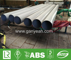 Welded high pressure stainless steel tubing